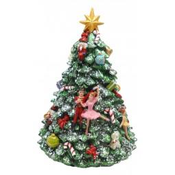Caja de musica arbol de Navidad