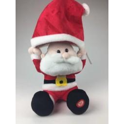 Papa Noel con gorro navideño