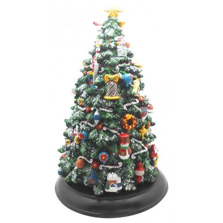 de Navidad grande con luces LED