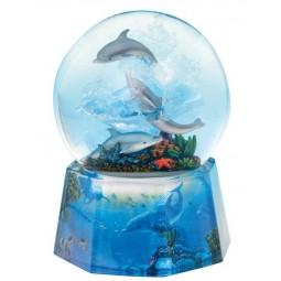 Bola brillantina delfines