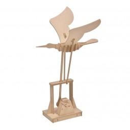 """Kit extravagante de madera """"pajaro"""""""