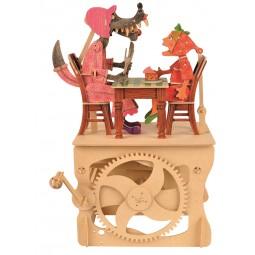 "Kit extravagante de madera ""Caperucita roja"""