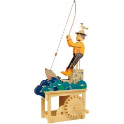"Kit extravagante de madera ""Pescador"""