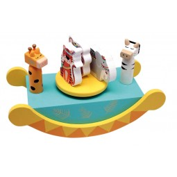 "Wooden boat ""animals"""