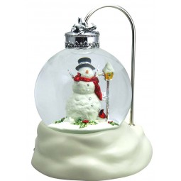 "Snowglobe plays the melody ""Winter wonderland"""