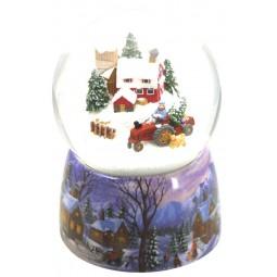 Snow globe farm