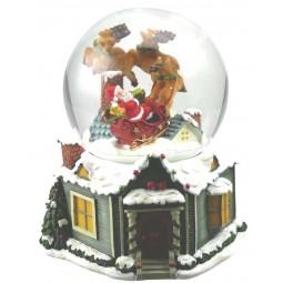 Bola, Santa y trineo de renos