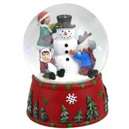 Bola grande, muñeco de nieve