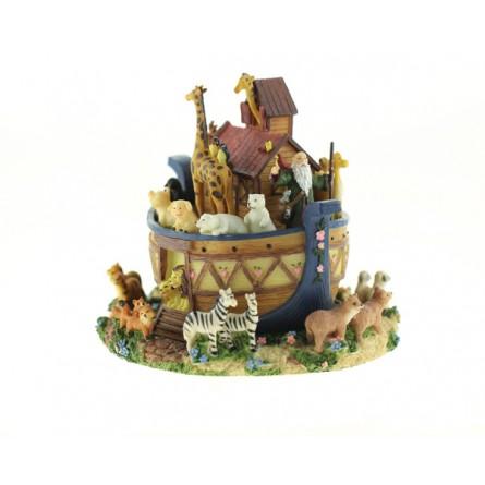 Caja de musica en el arca de Noe