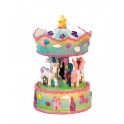 "Musicbox ""unicorn carousel"""