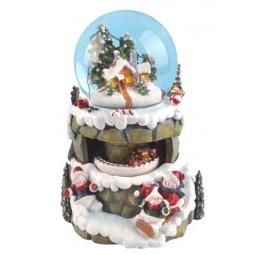 Bola de nieve muñecos de nieve / trineos