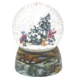 Bola de nieve niños/abetos