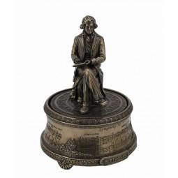 Caja de música Figura de Beethoven