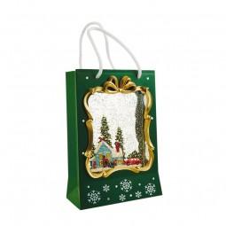 Bolsa de Navidad verde