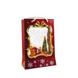 Bolsa de Navidad roja