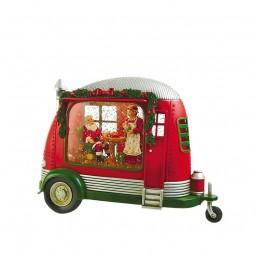 Caravana con Santa y su Mujer