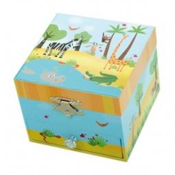 Schmuckbox Dschungel