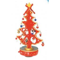 Árbol de Navidad rojo 330 mm