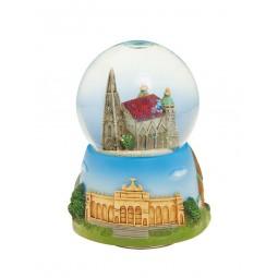 Bola de purpurina Catedral de Viena