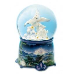 Bola de cristal unicornio