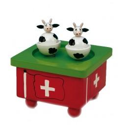 Vacas bailandos suizas