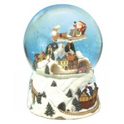 Bola de nieve Trén de Navidad
