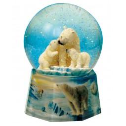 Bola de nieve osos polares
