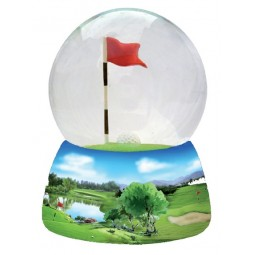 Bola brillantina golf