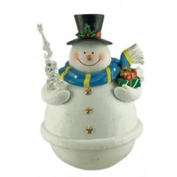 Tentetieso muñeco de nieve