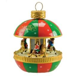 Bola de Navidad tiovivo