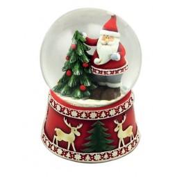 Bola de nieve Santa Claus