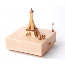 Holzspieluhr Eifelturm