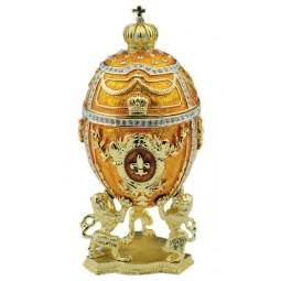 Huevo Fabergé dorado