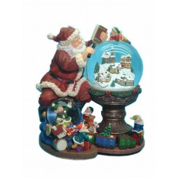 Suchender Santa