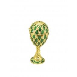 Huevo Fabergé verde