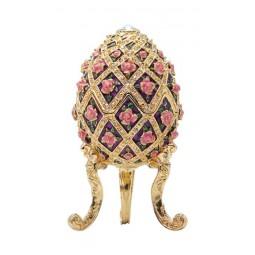 Huevo Fabergé flores