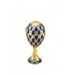 Huevo Fabergé azul