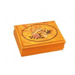 """Caja de madera """"bailarina"""""""