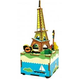 "Puzle ""Torre Eiffel"" de madera"